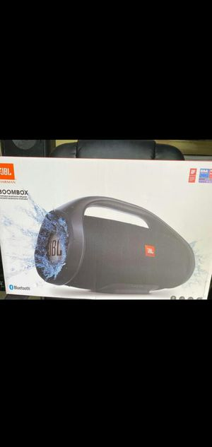 Brand new JBL Boombox, waterproof, Bluetooth, 24 hours of playtime for Sale in Miami, FL