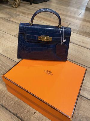 Hermes Birkin Blue bag for Sale in Glendale, CA