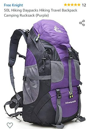 Free Knight 50L Outdoor Hiking Bag,Waterproof Tourist Travel Mountain Backpack,Trekking Camping Climbing Sport Bags for Sale in Rancho Cucamonga, CA