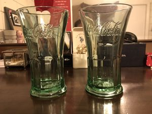 Classic Collectable Coca Cola Glass Cups for Sale in Crystal River, FL