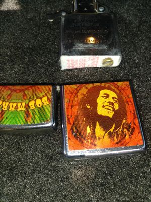 Zippo Bob Marley picture lighter for Sale in Alvarado, TX