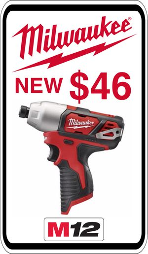 BRAND NEW - Milwaukee M12 Impact - We accept trades & Credit Cards - AzBE Deals for Sale in Sun City, AZ