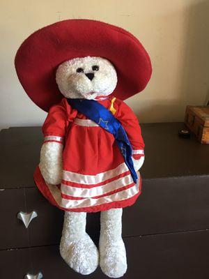 patriotic teddy bear for Sale in San Jacinto, CA