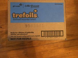 Trefoils Girl Scout cookies 1 case for Sale in PINEVILLE, LA
