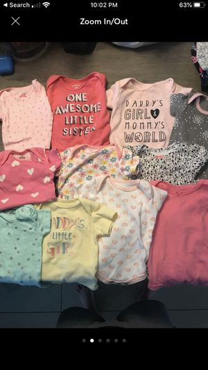 Baby Girl Clothes and Bathtub for Sale in Pembroke Pines, FL