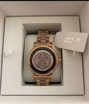 Michael Kors women's smart watch rose gold for Sale in Waterbury, CT