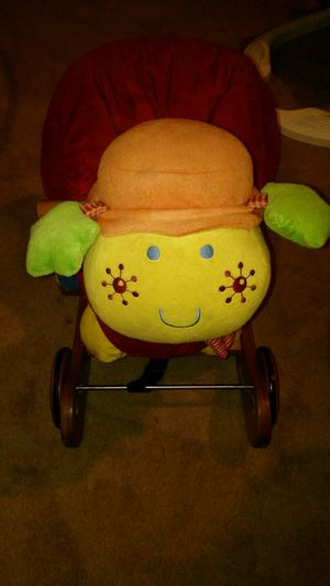 Lotty the ladybug rock/ride on toy for Sale in Greensboro, NC