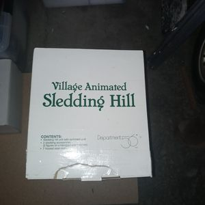 Department 56 Village Animated Sledding Hill for Sale in Crystal Lake, IL