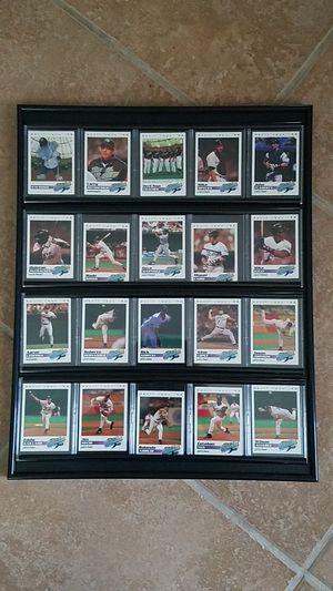 MLB- Tampa Bay Devil Ray's inaugural season Framed cards for Sale in Riverview, FL