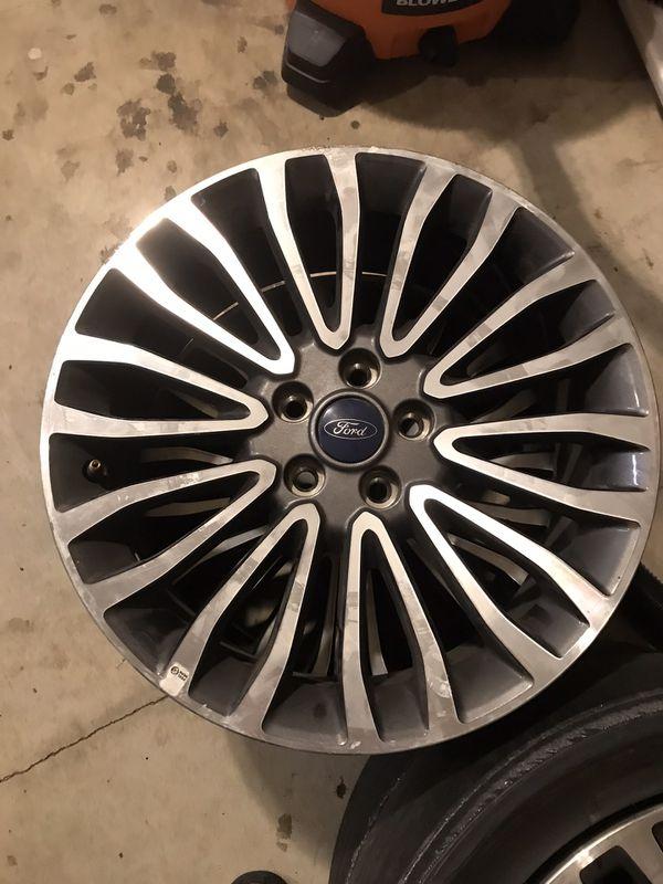 "(2) Ford Fusion 18"" OEM Wheel Rims"