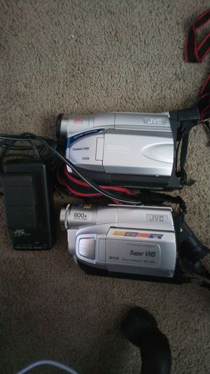 Two JVC Classic Video Cameras for Sale in Tamarac, FL