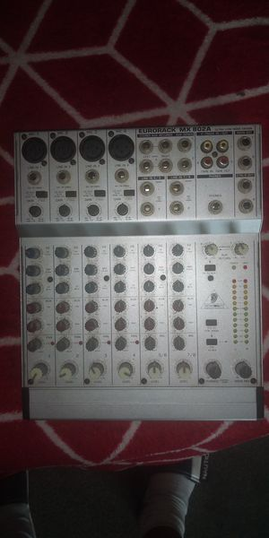 Behringer eurorack mx802a mixer for Sale in Elma, WA