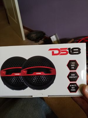 """DS18 1"""" Inch Silk Dome Micro Tweeters for Sale in Banks, OR"""