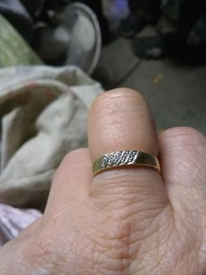 10 k gold ring sz 9 for Sale in Baxley, GA