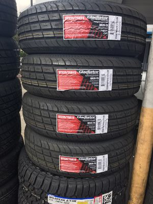TRAILER TIRES AVAILABLE MANY SIZES MSG ME FOR PRICING for Sale in Lafayette, CA