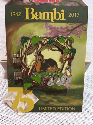 Disney Bambi Limited Edition Pin -NEW for Sale in Sunnyvale, CA
