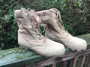 Combat boots size 47 aka men's 13 for Sale in Federal Way, WA