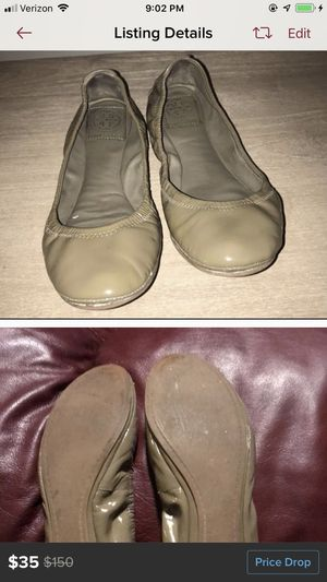 Size 6 Taupe Colored Tory Burch flats for Sale in Hendersonville, TN