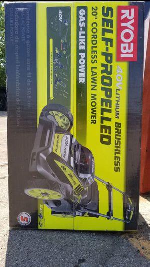 RYOBI LAWN MOWER 40V 20IN BRAND NEW for Sale in Dearborn, MI