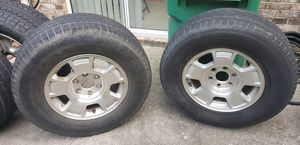 (2) 18inch Rims/Tires. Center Caps by Request for Sale in Peachtree Corners, GA