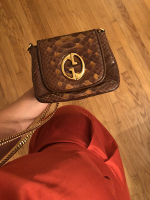 GUCCI 1973 Vintage Python Crossbody Bag - Make an offer! for Sale in Houston, TX