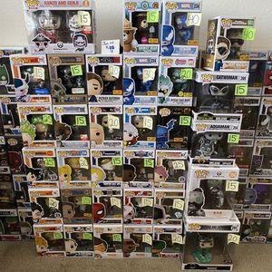 Funko pop exclusive cheap common pops for Sale in Norco, CA