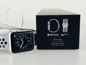 Apple Watch Nike+ Series 3 42mm Smartwatch GPS + Cellular, Silver Aluminum for Sale in Johns Creek, GA