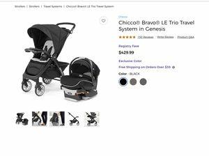 Chicco Bravo LE Trio Travel System in Genesis for Sale in Skokie, IL