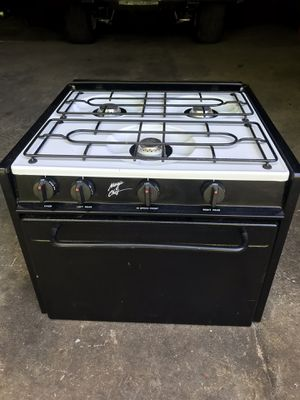 Camper stove & oven, like new $125 runs on gas and electric for Sale in Jim Thorpe, PA