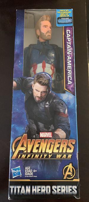 Marvel's Avenger Captain America Action Figure for Sale in Downey, CA