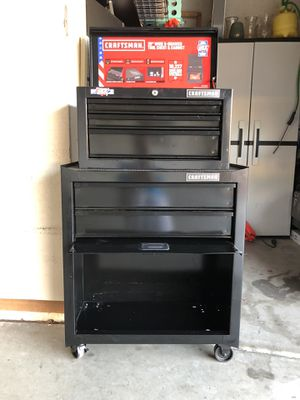 Craftsman Tool Chest and Cabinet Excellent Condition for Sale in Scottsdale, AZ