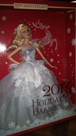 2013 Holiday Barbie for Sale in Pataskala, OH