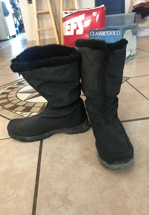 Black Snow Boots for Sale in Fort Worth, TX