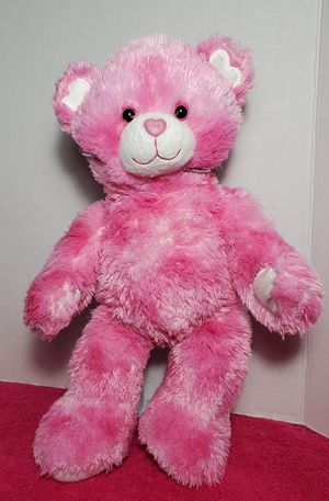 "16"" Build A Bear Pink Endless Hearts Super Soft Plush Stuffed Teddy BABW Toy for Sale in Dale, TX"