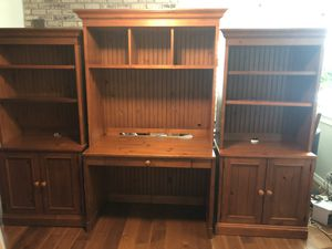 Crate and Barrel Desk and two shelving units for Sale in Concord, CA