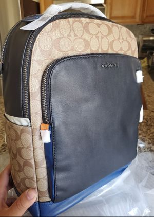 2 SET OF COACH BACKPACK AND FANNY PACK FOR MEN for Sale in Fontana, CA