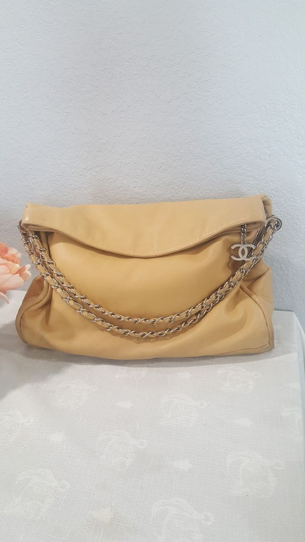 Authentic Chanel hobo bag