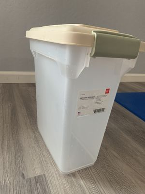 Pet Food Storage 12.5lbs Cat/Dog for Sale in Pacific Grove, CA
