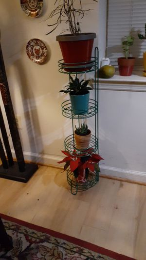 4 Tier Metal Plant Stand for Sale in Washington, DC
