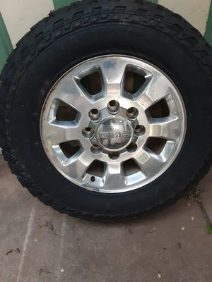 Factory gmc 3500 rims for Sale in Abilene, TX