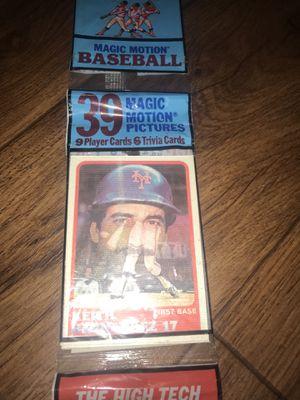 Baseball cards sealed 1988 sportflics rack pack for Sale in Colorado Springs, CO