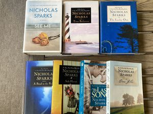 Nicholas Sparks Books Lot of 7 for Sale in Apex, NC