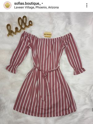 Mauve Striped Dress for Sale in Phoenix, AZ