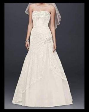 Wedding Dress, Size 16 for Sale in Riverside, CA