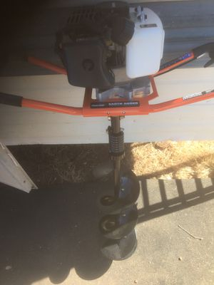 AUGER. . Powermate earth auger for Sale in Chicago, IL