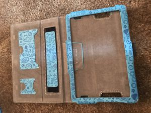 """Amazon fire 7"""" tablet case baby blue for Sale in Celebration, FL"""