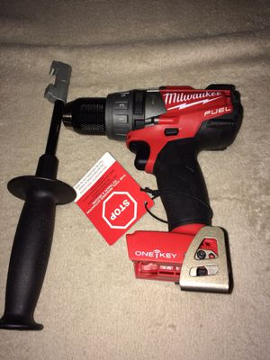 Milwaukee m18 one key hammer drill. Tool only) battery and charger not included for Sale in Los Angeles, CA