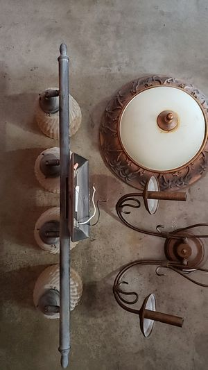 Light fixtures used for Sale in San Diego, CA