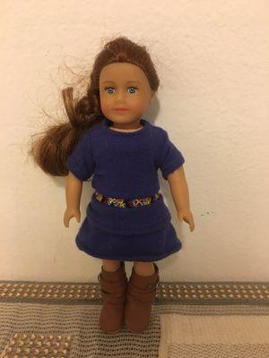 Mini American girl doll for Sale in Renton, WA