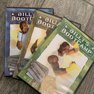 📀💪🏾 Billy's Bootcamp 3 DVD Lot for Sale in Fresno, CA